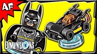getlinkyoutube.com-Lego Dimensions BATMAN Batmobile 3-in-1 Build Instructions & Review 71174