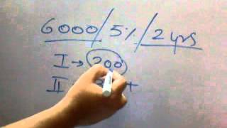 getlinkyoutube.com-Quickest way to Solve Compound Interest problems.. (HINDI)