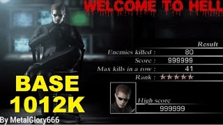 getlinkyoutube.com-Resident Evil 4 - The Mercenaries (Welcome To Hell) Mode - Base - Wesker (1.012.000) HQ