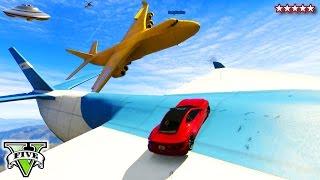 getlinkyoutube.com-GTA 5 Online BIG FAT YELLOW CARGOPLANE Sandbox!!! - Funny Moments Yellow BANANA CARGOPLANE GTA 5