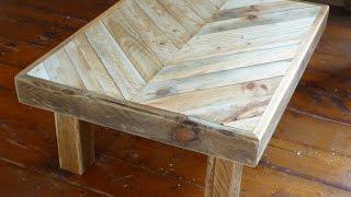 getlinkyoutube.com-Tweakwood: Making a coffee table out of recycled pallet wood