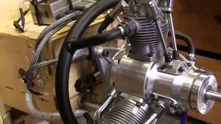 getlinkyoutube.com-Saito 60cc 3-Cylinder Gas Radial