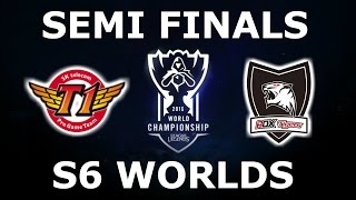 getlinkyoutube.com-SKT vs ROX - Semi Finals S6 LoL eSports World Championship 2016! SK Telecom T1 vs Rox Tigers