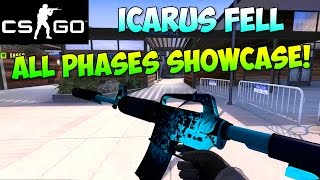 getlinkyoutube.com-CS:GO -  M4A1-S Icarus Fell All Different Phases Showcase! (Counter Strike Skins)