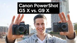 getlinkyoutube.com-Canon PowerShot G5 X vs. Canon PowerShot G9 X | Praxistest | Review | Deutsch