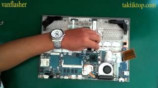 getlinkyoutube.com-Toshiba Portege R830 R835 Z830 Z835 Disassembly And Fan Cleaning