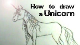 getlinkyoutube.com-How to draw a Unicorn