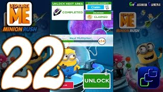 getlinkyoutube.com-Despicable Me Minion Rush Android Walkthrough - Part 22 - Residental Area Level 48-49