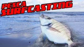 getlinkyoutube.com-Surf Casting a Capo Comino (video di pesca completo)