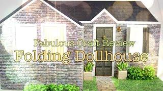 getlinkyoutube.com-Fabulous Craft Review:  Folding Dollhouse