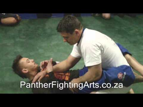MMA Training - Basic Arm Bar, Jiu Jitsu Techniques