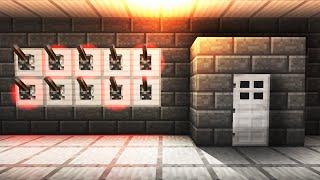 getlinkyoutube.com-Lever Password Activated Door! - Minecraft Tutorial