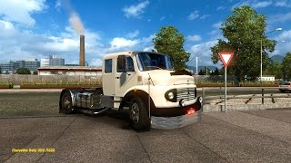 getlinkyoutube.com-Euro Truck Simulator 2 - Mercedes-Benz 1519 / 1525
