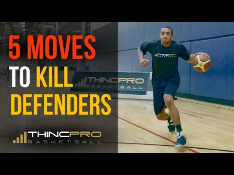 Top 5 - DEADLY Basketball Moves to KILL Your Defender and Score More Points!