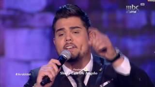 getlinkyoutube.com-عرب ايدول الحلقة النهائية امير دندن من فلسطين مواويل وديعية واغنية قتلوني عيون السود Arab Idol 2017