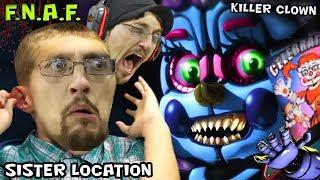 getlinkyoutube.com-KILLER CLOWN JUMP SCARE in FIVE NIGHTS AT FREDDY'S 5 SISTER LOCATION (FGTEEV SCARY BABY Gameplay)