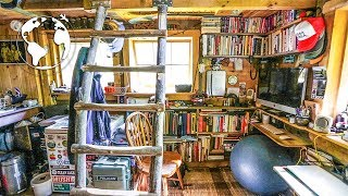 getlinkyoutube.com-Teenager Builds Off Grid Tiny House (80% Recycled Material)