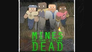 getlinkyoutube.com-Left 4 Dead 2 - Minecraft Mod - Mines of the Living Dead Custom Survival Map Gameplay Playthrough