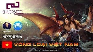 getlinkyoutube.com-[Shiversteel Vainglory] Vòng loại Shiversteel Việt Nam | Day 2 | Caster : Junky