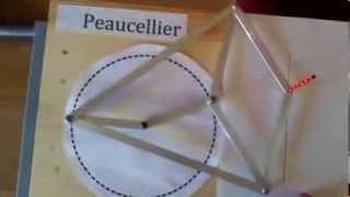 getlinkyoutube.com-Mecanismo de Peaucellier