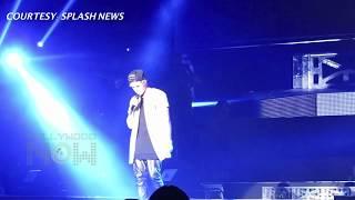 getlinkyoutube.com-(VIDEO) Justin Bieber LIP SYNC FAIL At Ariana Grande's Concert