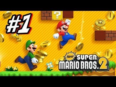 New Super Mario Bros 2 3DS - Part 1 World 1