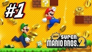 getlinkyoutube.com-New Super Mario Bros 2 3DS - Part 1 World 1