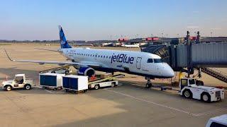 JetBlue E-190 Flight BOS-PIT