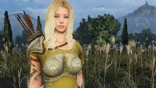 getlinkyoutube.com-Black Desert Online: Female Ranger Combat and Quest Gameplay (2nd CB Korea)