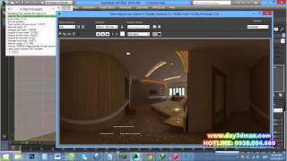 getlinkyoutube.com-Học 3d max 3. Hướng dẫn render phối cảnh panorama- learning study 3d rendering panorama perpective