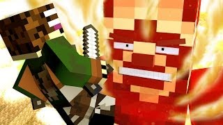 getlinkyoutube.com-Attack on Minecraft - Minecraft Animation