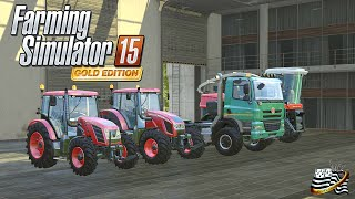 getlinkyoutube.com-Farming Simulator 15 GOLD EDITION  / Découverte / Map Sosnovka