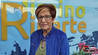 Presentazione candidatura Gina Maniaci a sindaco di Piraino - www.canalesicilia.it