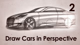 getlinkyoutube.com-How to Draw Cars in Perspective Part 2