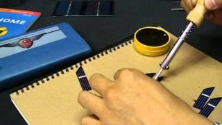 getlinkyoutube.com-소형 태양광 모듈 제작하기