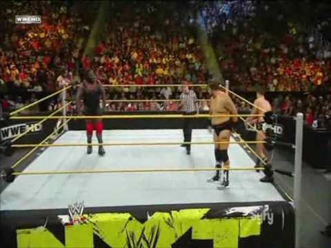 Dashing Cody Rhodes and Husky Harris vs. Mark Henry and Lucky Cannon (NXT 07 06 2010)