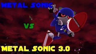 getlinkyoutube.com-Sonic Generations (PC) - Metal Sonic vs Metal Sonic 3.0