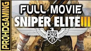 getlinkyoutube.com-Sniper Elite 3 (PC) I The Movie I [Full HD]