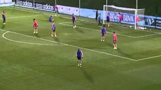 getlinkyoutube.com-Isco Full Skills at Real Madrid's training 28/12/2014