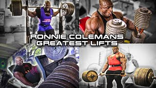 getlinkyoutube.com-Ronnie Coleman Greatest Lifts EVER | Compilation