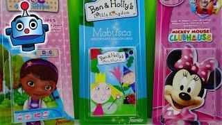 getlinkyoutube.com-Juegos de Cartas Ben y Holly, Doctora Juguetes y Minnie Mouse Playing Cards