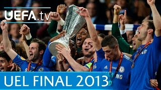 2013 UEFA Europa League final highlights - Benfica-Chelsea