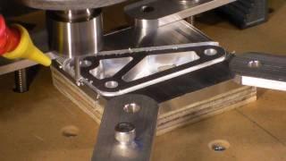 Homemade DIY CNC Series - 1/4 Thick Aluminum Test Bracket - Neo7CNC.com