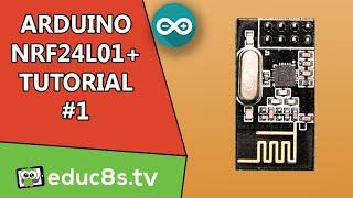 getlinkyoutube.com-Arduino Tutorial: Arduino NRF24L01 Wireless Tutorial with Arduino Uno, basic setup