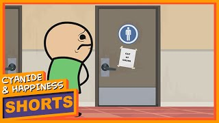 getlinkyoutube.com-Out of Order - Cyanide & Happiness Shorts