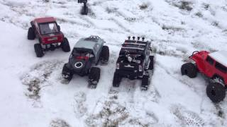getlinkyoutube.com-The Big Test RC4WD Deep Lug Tracks VS. Six Other Trucks with Different 2.2 Tires