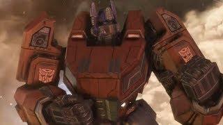 getlinkyoutube.com-Transformers: Fall of Cybertron Optimus Prime Ending (Arrival To Earth)