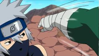 getlinkyoutube.com-Kakashi vs Guy AMV