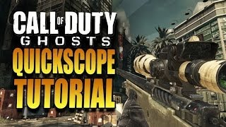 getlinkyoutube.com-Tutorial Quickscope Call Of Duty Ghosts ITA   By BlinDzOrE