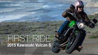 getlinkyoutube.com-2015 Kawasaki Vulcan S First Ride - MotoUSA